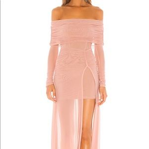 Hampton Gown in Nude